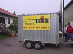 Mobile Heizzentrale Otto Müller GmbH Hassloch